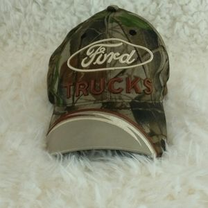 Ford Trucks Camo Ball Cap
